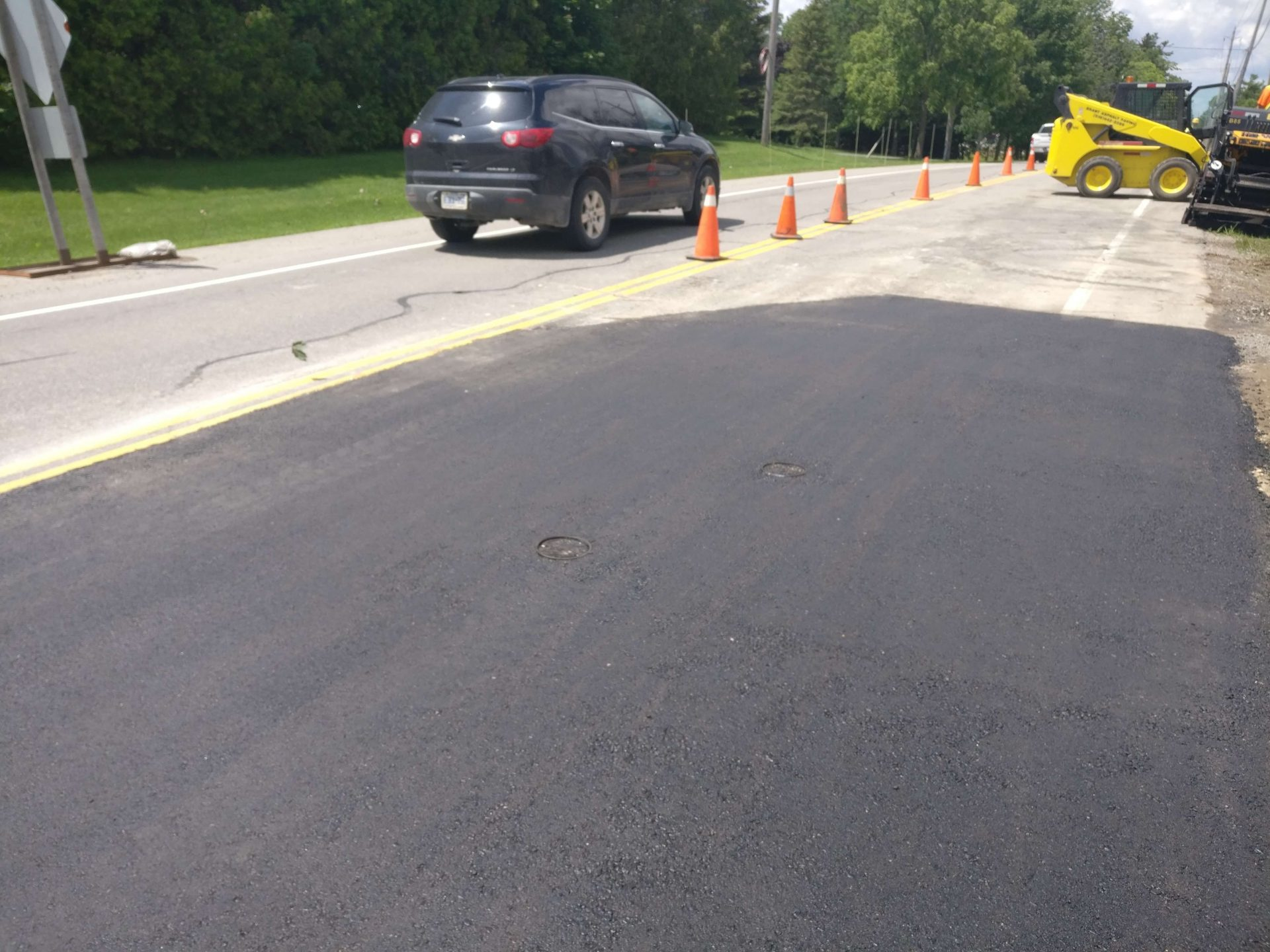 Paved comparison to regular concrete roads