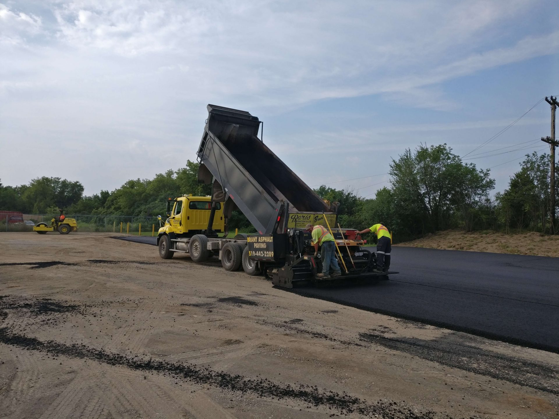 Asphalt paving by Brant Asphalt Paving