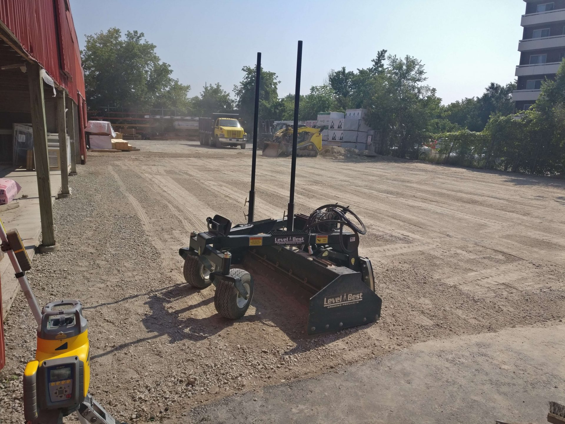asphalt preparation machinery